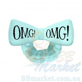 Косметическая повязка для волос Double Dare OMG! Sky Blue Hair Band (голубая)