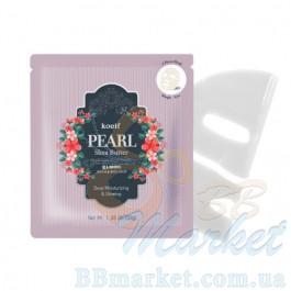 Гидрогелевая маска для лица с жемчугом KOELF Pearl & Shea Butter Mask 30g - 1 шт