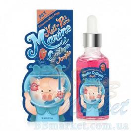 Сыворотка для лица с морским коллагеном Elizavecca Witch Piggy Hell-Pore Marine Collagen Ample 95% 50ml