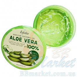 Гель для тела Esfolio Aloe Vera 100% Moisture Soothing Gel 300ml
