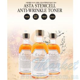 Омолаживающий тонер со стволовыми клетками Graymelin Asta Stemcell Anti-Wrinkle Toner 130ml