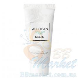 Очищающая пенка с белой глиной HEIMISH All Clean White Clay Foam 30ml