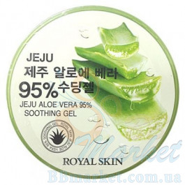 Гель с алоэ ROAYL SKIN JEJU ALOE VERA 95% SOOTHING GEL 300ml