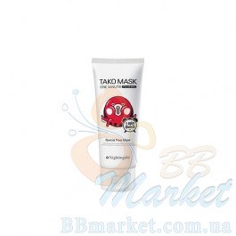 Маска для очищения кожи Nightingale One Minutes Tako Mask Polishing 100ml