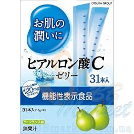Питьевая гиалуроновая кислота в форме желе Otsuka Hyaluronic Acid C Jelly 310g (на 31 день)