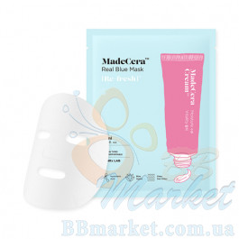 Интенсивно увлажняющая тканевая маска для лица SKINRx LAB MadeCera Real Blue Mask 20ml