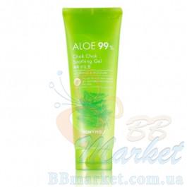 Успокаивающий гель для лица с алое Tony Moly Aloe 99% Chok Chok Soothing Gel 250ml