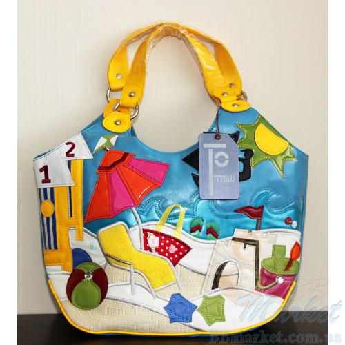 60747891ba86 Женская сумка Braccialini TottyBlu Пляж. Цена, купить женскую сумку ...