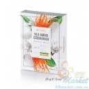 Маска для лица с протеинами шелка PETITFEE Silk Amino Serum Mask 25g - 10шт