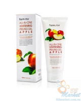 Осветляющий пилинг-гель для лица Farm Stay All in One Whitening Peeling Gel Apple 180ml