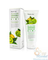 Осветляющий пилинг-гель для лица Farm Stay All in One Whitening Peeling Gel Kiwi 180ml