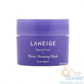 Увлажняющая ночная маска для лица с лавандой LANEIGE Water Sleeping Mask Lavender 15ml