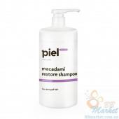 Восстанавливающий шампунь для поврежденных волос PIEL Hair Care MACADAMI Restore Shampoo 250ml