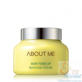 Массажный крем для лица выравнивающий тон ABOUT ME Skin Tone Up Massage Cream 150ml