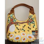 Женская сумка Braccialini TottyBlu Пчёлки