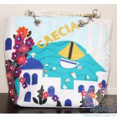 Женская сумка Braccialini TottyBlu Греция