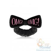 Косметическая повязка для волос Double Dare OMG! Black Hair Band (чёрная)