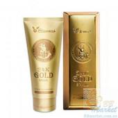 Пенка для умывания с золотом и муцином улитки Elizavecca 24K Gold Snail Cleansing Foam 180ml