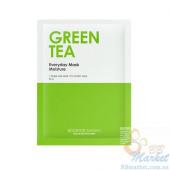 Увлажняющая ежедневная маска для лица с зеленым чаем BOOMDEAHDAH Everyday Mask Green Tea 25g