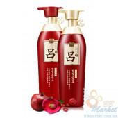 Лечебный шампунь и кондиционер RYOE  (красный)  400ml+400ml