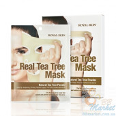 Маска для лица с чайным деревом ROYAL SKIN REAL TEA TREE MASK