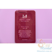 MISSHA M Perfect Cover BB Cream ББ Крем SPF42 - 1мл