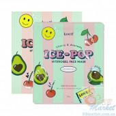 Гидрогелевая маска для лица с вишней и авокадо KOELF Cherry & Avocado Ice-Pop Hydrogel Face Mask 30g - 1 шт