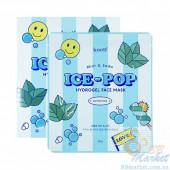 Гидрогелевая маска для лица с мятой и cодой KOELF Mint & Soda Ice-Pop Hydrogel Face Mask 30g - 1 шт