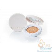 Кушон с бб кремом Missha Magic Cushion Cover Lasting SPF50+/PA+++