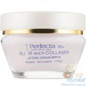 Лифтинг-крем корректирующий контур лица для возраста 60+ PERFECTA Elixir Multi-Collagen Cream Lifting 60+ 50ml
