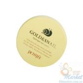 УЦЕНКА! (Помятая упаковка) Гидрогелевые патчи для глаз с золотом и улиткой Petitfee Gold & Snail Hydrogel Eye Patch 60шт