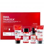 Набор миниатюр восстанавливающих средств с муцином улитки SOME BY MI Snail Truecica Miracle Repair Starter Kit