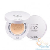 Кушон с СС кремом Secret Key Face Glow CC Cushion 11g