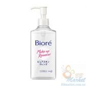 Гидрофильное масло для чувствительной кожи Biore Make Up Remover Pure Skin Cleansing Oil Sensitive Skin 230ml