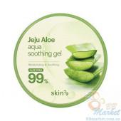 Универсальный гель c алоэ Skin79 Jeju Aloe Aqua Soothing Gel 300ml