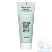Очищающая глиняная маска для лица Skin79 Animal Color Clay Mask Mouse With Blemishes 70ml