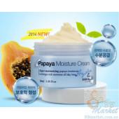 Супер-увлажняющий крем для лица The Skin House Hydra Papaya Moisture Cream 30ml